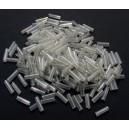 MT-36 - (19 grame) Margele nisip tub semitransparente cu putin efect AB 6mm