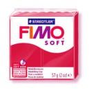 Fimo Soft christmas red 56 grame - 8020-2 P