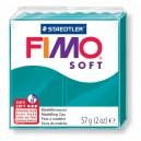 Fimo Soft teal 56 grame - 8020-36