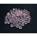 MFR626 - Rondele cristal fatetate roz 6x4mm