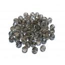 MFS633 - Cristale fumurii sfere fatetate 6mm