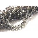 MFS634 - Cristale gri sfere fatetate 6mm