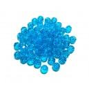MFS639 - Cristale albastru turcoaz sfere fatetate 6mm