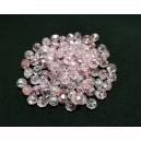 MFR682 - Rondele cristal fatetate roz rece pal efect AB 6x4mm