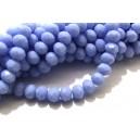 MFR701 - Cristale albastru movuliu opac rondele fatetate 6*4mm