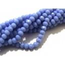 MFR730 - (10 buc.) Cristale albastru movuliu opac rondele fatetate 4*3mm
