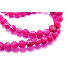 PSE196-A - Regalite roz bombon sfere 6mm - STOC LIMITA!!!