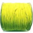 SE1mm-19 - (1 metru) Snur elastic rotund galben lamaie 1mm