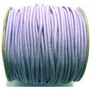 SE2mm-01 - (1 metru) Snur elastic rotund mov pal 2mm