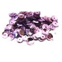 PAH-7MM-10 - (1.10 grame) Paiete hexagonale mov lila 7mm