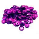 PAH-7MM-11 - (1.10 grame) Paiete hexagonale magenta 7mm