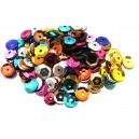 PAH-7MM-19 - (1.10 grame) Paiete hexagonale mix de culori 7mm
