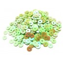 PAR-4MM-02 - (2.75 grame) Paiete rotunde verde fistic efect AB 4mm