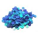 PAR-4MM-03 - (2.75 grame) Paiete rotunde albastre efect AB 4mm
