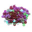 PAR-4MM-05 - (2.75 grame) Paiete rotunde violet efect AB 4mm