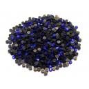 SLC2mm-10 - (50 buc.) Strasuri hotfix albastru cobalt 2mm