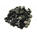 SLC5mm-03 - (10 buc.) Strasuri hotfix negru hematit 5mm