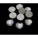 SLC02-06 - Strasuri hotfix rotunde clear 10mm