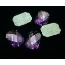 SLC13-01 - Strasuri hotfix hexagon mov 14*10mm