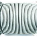 SPOL1.7mm-02 - (1 metru) Snur poliester cerat gri 1.7mm