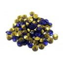 STR5.0mm - (10 buc.) Strasuri conice cristale albastru cobalt 5mm
