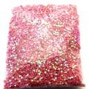 DISPONIBIL 1 PUNGA 16.62 GRAME - PAR1-1.5MM-27 - Paiete rotunde fara gaura roz efect AB 1-1.5mm