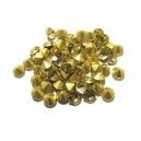 STR5.0mm - (10 buc.) Strasuri conice cristale galben pal 5mm