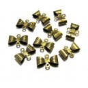 CO07 - Conector fundita bronz antic 12*8mm