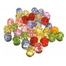 ACR28 - (50 buc.) Margele acril sfere diverse culori sfere 8mm