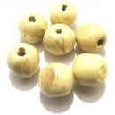 Margele lemn ivory 19*17.5mm