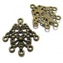 MX106 - Chandelier bronz antic 30*27mm