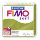 8020-57 - Fimo Soft green olive 56 grame