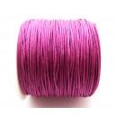 SNY1mm-18 - (1 metru) Snur nylon roz zmeura 1mm
