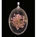 PFU-D-07 - Pandantiv flori uscate oval 42*25mm