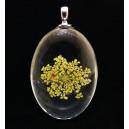 PFU-D-10 - Pandantiv flori uscate oval 42*25mm