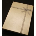 CCS-Y-04 - Cutie cadou ivory pentru set 18*13*3.3cm