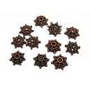 MX342 - Capacele floare cupru 10mm