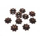 MX343 - Capacele floare cupru 9mm