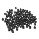 DI266 - (10 buc.) Distantier negru gunmetal sfere 3.2mm