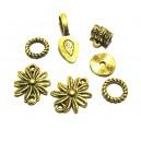 DISPONIBIL 1 SET - MX447 - Set accesorii auriu antic