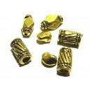 DISPONIBIL 1 SET - MX482 - Set distantiere auriu antic