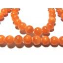 PSEXX-12 - Jad portocaliu sfere 8mm