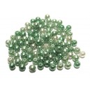 PA5mm-24 - (50 buc.) Perle acril nuante verde degrade sfere 5mm