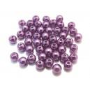 PA5mm-11 - (50 buc.) Perle acril mov sfere 5mm