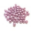 PA5mm-12 - (50 buc.) Perle acril lila sfere 5mm