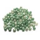 PA5mm-24 - (50 buc.) Perle acril nuante verde degrade sfere 5mm