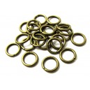 ZA11 - (20 buc.) Zale bronz antic 10*1.5mm