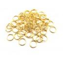 (100 buc.) Zale aurii 8mm