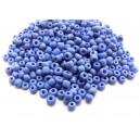 MN4mm-23 - (45 grame) Margele nisip albastru intens 4mm
