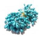(10 buc.) Stamine bleu perlat 4-5mm